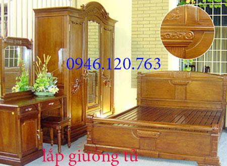 Thợ mộc tháo lắp giường tủ tại Hoàng Quốc Việt 0946.120.763