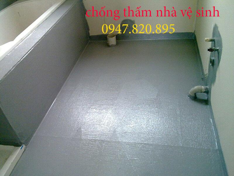 Chống thấm dột nhà vệ sinh quận Cầu Giấy 0947 820 895 triệt để 100%
